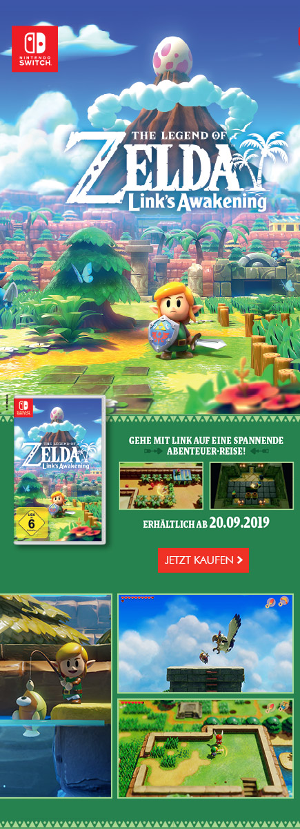 The Legend of Zelda Links Awakening diese Woche neu