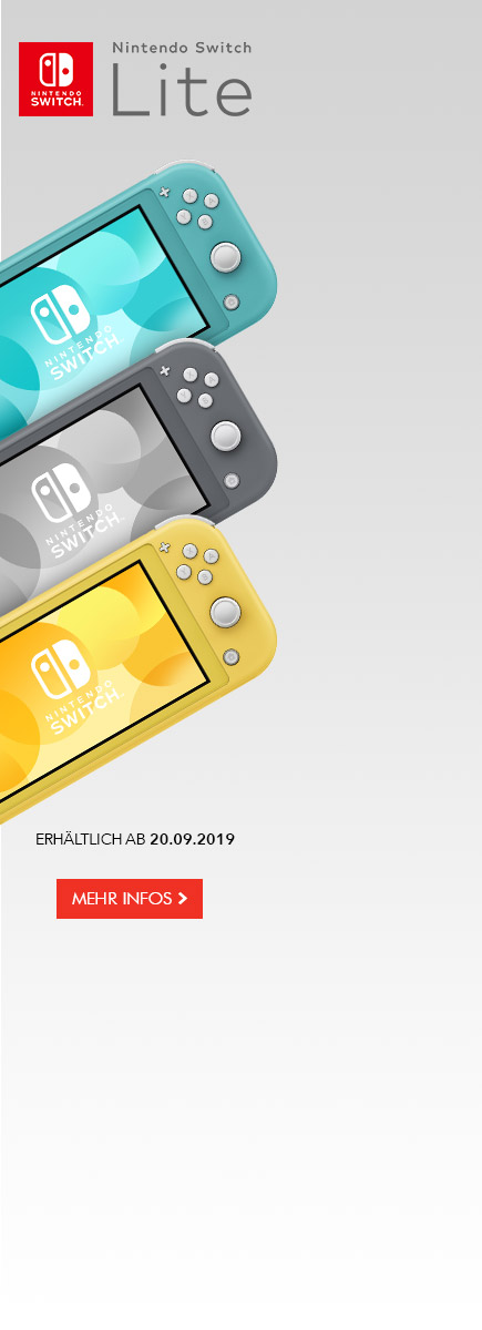 Nintendo Switch Lite für 129,99 EUR im Trade-in